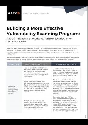 Building a More Effective Vulnerability Scanning Program: